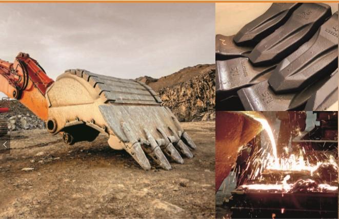Linser-podwozia maszyn budowlanych