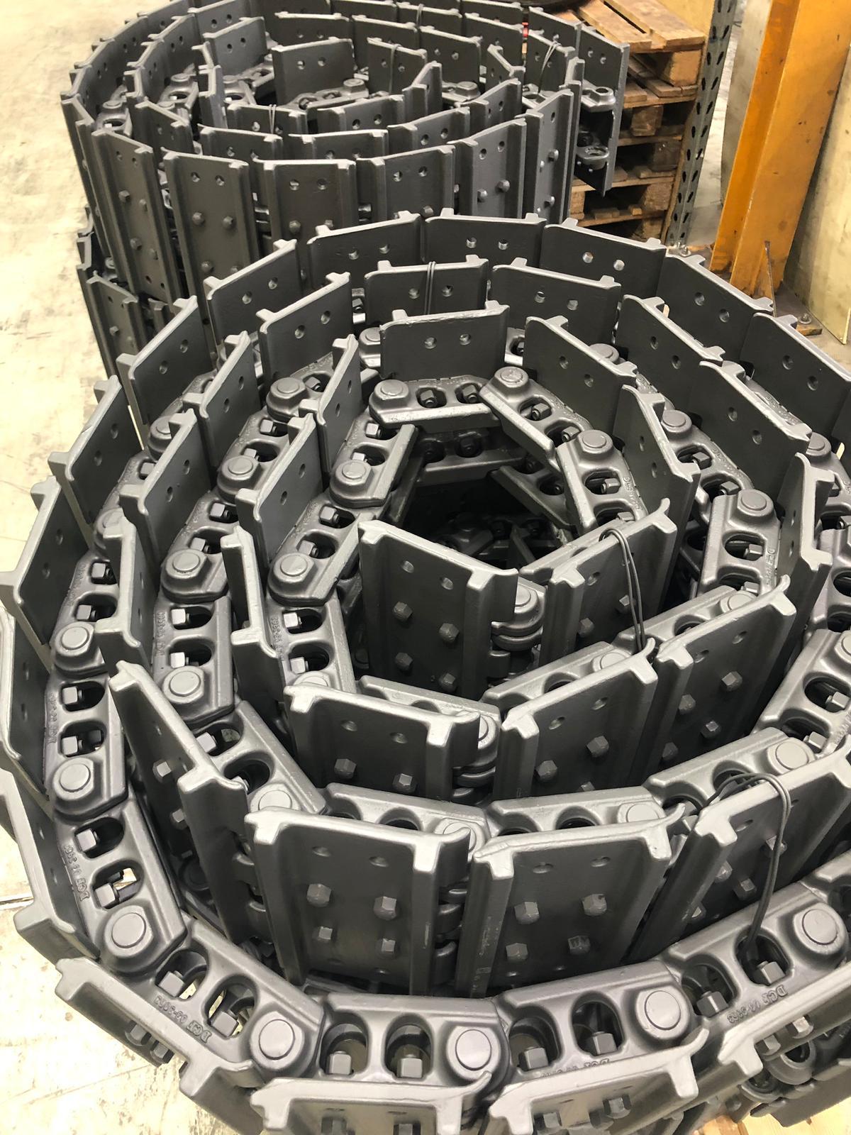 podwozia do maszyn budowlanych
