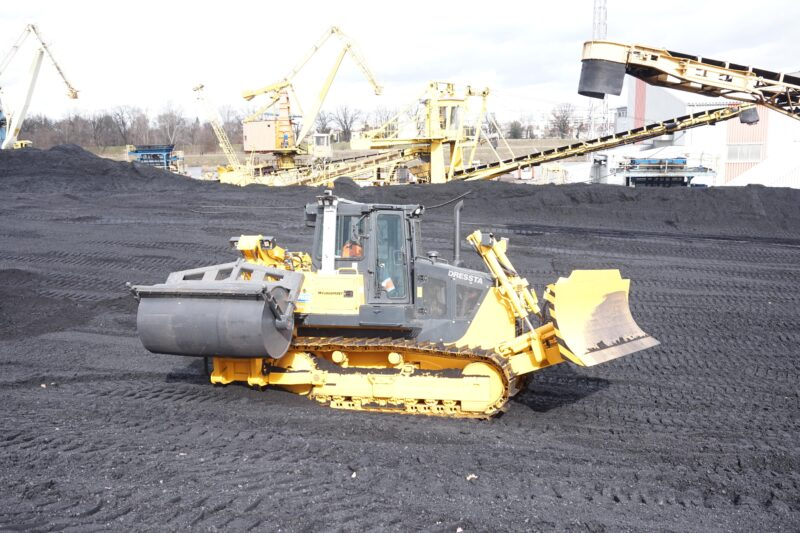 zagęszczarka zboczy hałd węgla