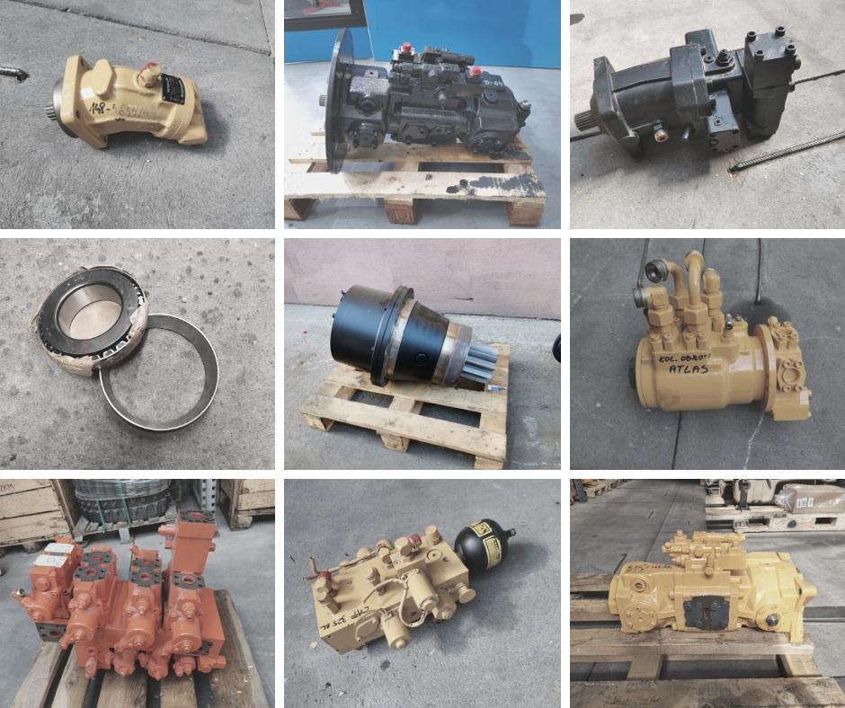 części maszyny budowlane